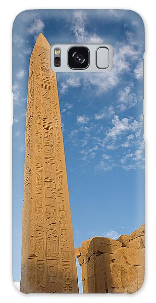 The Obelisk Of Queen Hatshepsut In Karnak Temple Galaxy Case