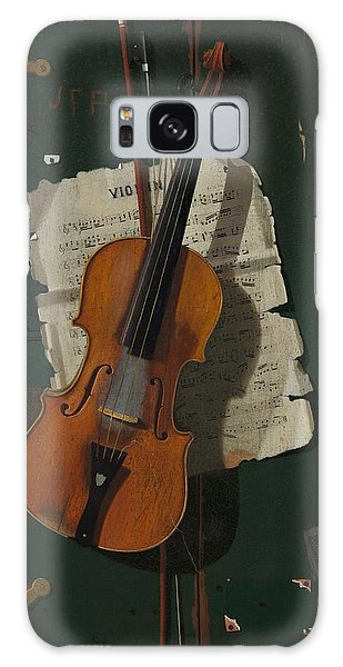 Violin Galaxy Case - The Old Violin by Mountain Dreams