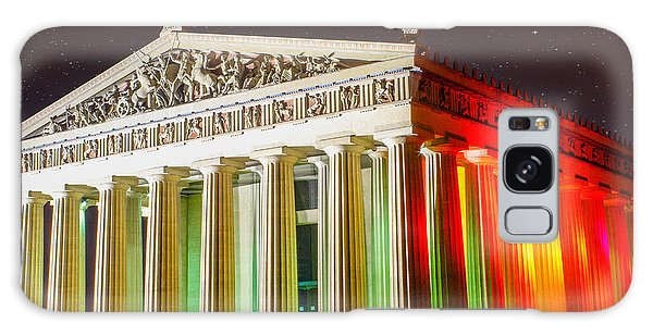 The  Parthenon Under The Stars Galaxy Case