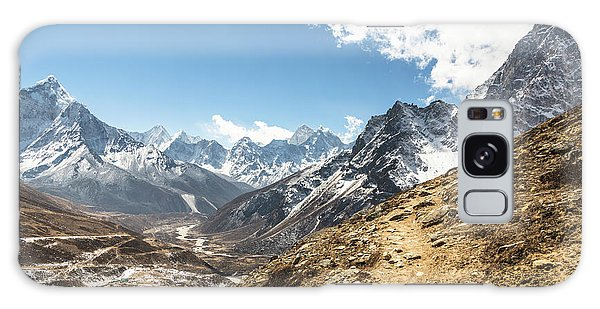 The Path To Cho La Pass In Nepal Galaxy Case