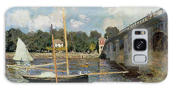 Boat Galaxy S8 Case - The Seine At Argenteuil by Claude Monet