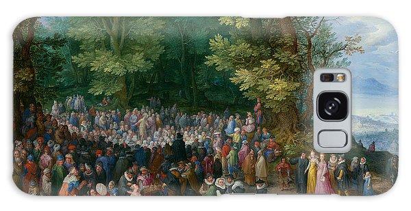 Jan Galaxy Case - The Sermon On The Mount by Jan Brueghel the Elder