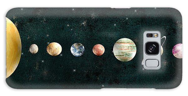 Galaxy Galaxy Case - The Solar System by Bri Buckley