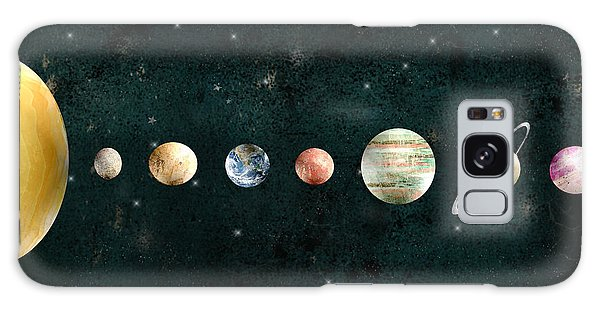 Outer Space Galaxy Case - The Solar System by Bri Buckley