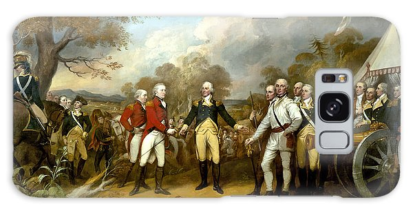 The Surrender Of General Burgoyne Galaxy Case by War Is Hell Store