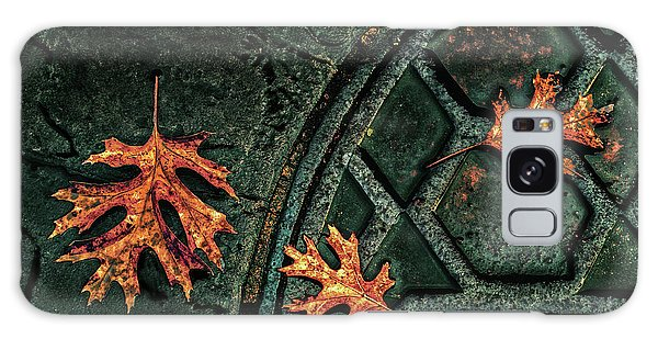 The Three Leaves Galaxy Case