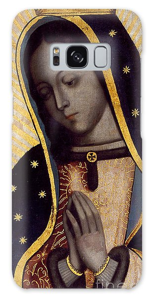 Central America Galaxy Case - The Virgin Of Guadalupe by Mexican School