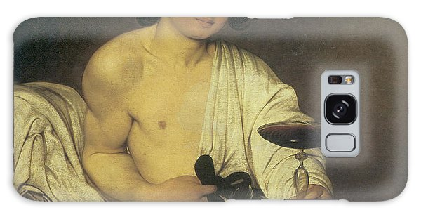 Whining Galaxy Case - The Young Bacchus by Caravaggio