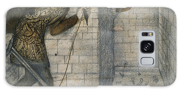 Minotaur Galaxy Case - Theseus And The Minotaur In The Labyrinth by Edward Burne-Jones