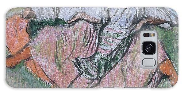 Russian Impressionism Galaxy Case - Three Russian Dancers by Edgar Degas