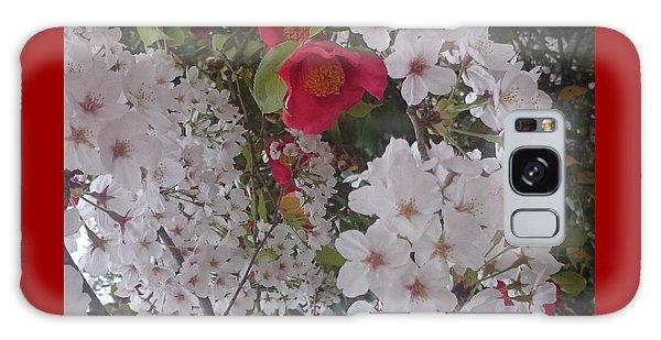 Thubaki Means Camellia Galaxy Case