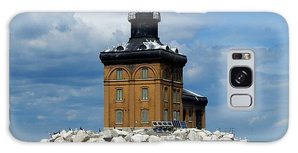 Toledo Harbor Lighthouse Galaxy Case