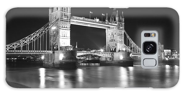Tower Bridge On The Thames London Galaxy Case