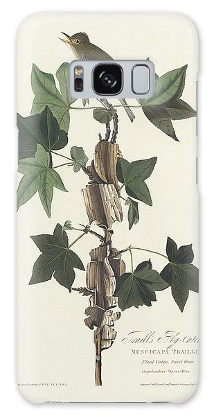 Flycatcher Galaxy Case - Traill's Flycatcher by John James Audubon
