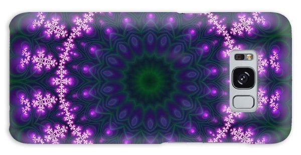 Transition Flower  Galaxy Case by Robert Thalmeier