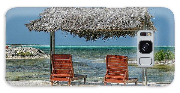 Tropical Vacation Galaxy Case