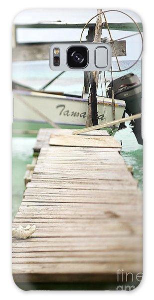Powerboat Galaxy Case - Tuamotu Isles by Kyle Rothenborg - Printscapes