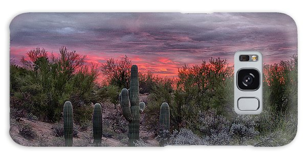 Tucson Sunset Galaxy Case