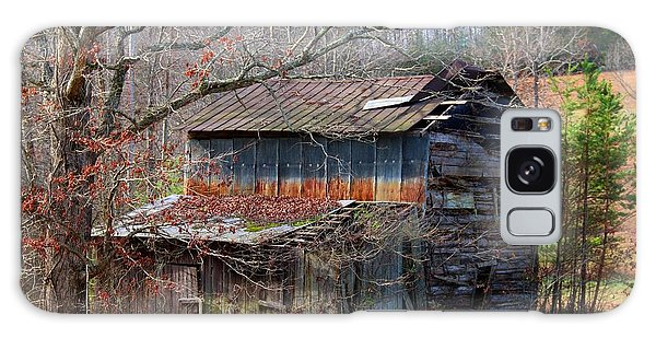 Tumbledown Barn Galaxy Case by Kathryn Meyer