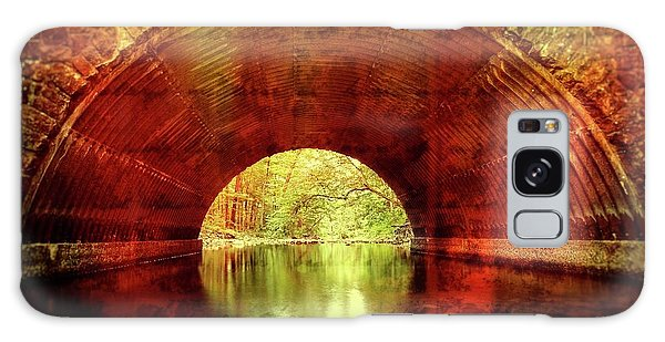Galaxy Case featuring the photograph Tunnel Vision by Alan Raasch