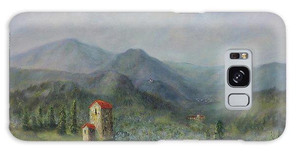 Tuscany Italy Olive Groves Galaxy Case
