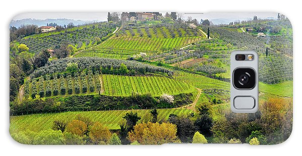 Tuscany Landscape Galaxy Case