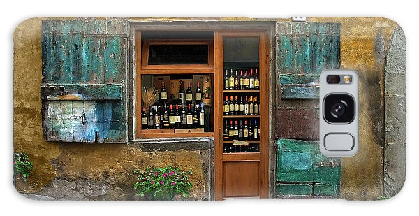 Tuscany Wine Shop 2 Galaxy Case