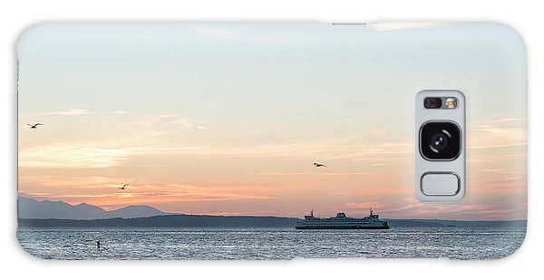 Twilight In Puget Sound Galaxy Case