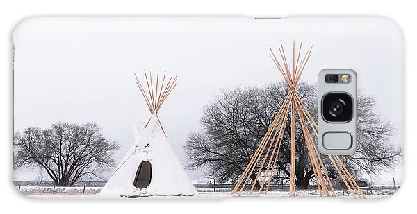 Two Tipis Galaxy Case