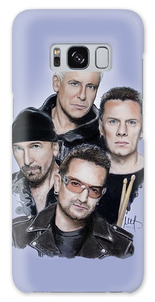 U2 Galaxy Case by Melanie D