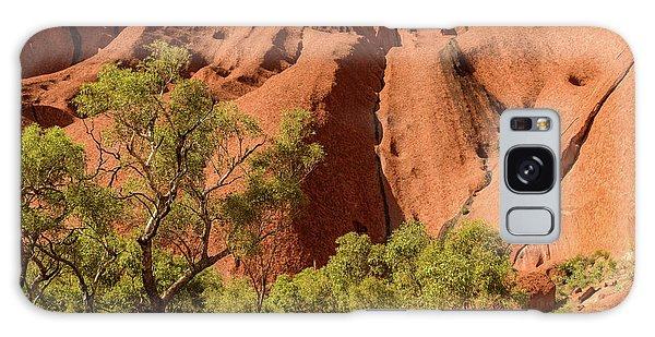 Galaxy Case featuring the photograph Uluru 07 by Werner Padarin