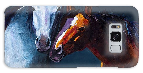Unbridled Love Galaxy Case by Frances Marino