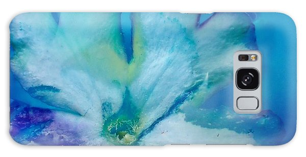 Underwater Flower Abstraction 7 Galaxy Case