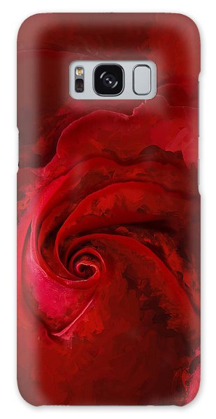 Unfurling Beauty Iv Galaxy Case by George Robinson