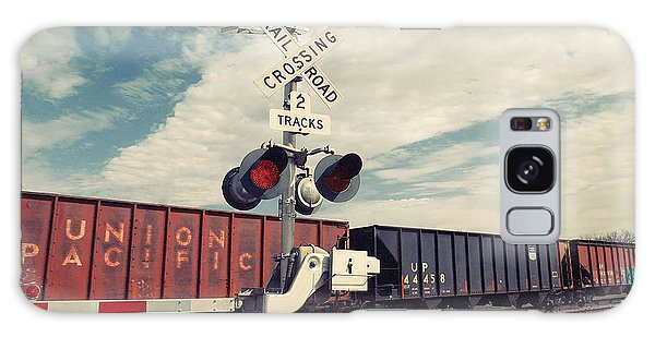 Union Pacific Galaxy Case by Gina  Zhidov