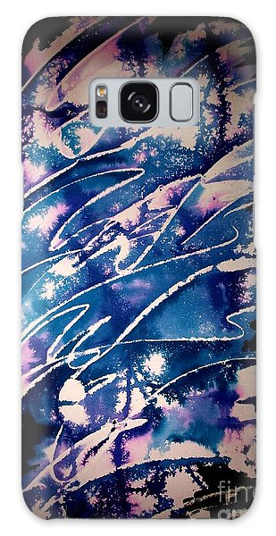 Galaxy Case featuring the painting Neelav by Tamal Sen Sharma