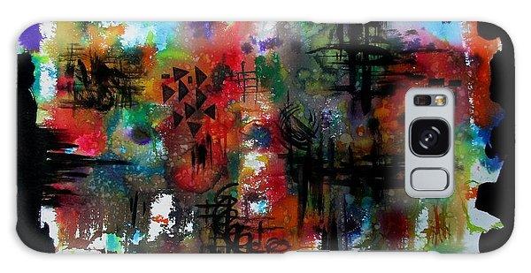 Galaxy Case featuring the painting Deepaboli by Tamal Sen Sharma