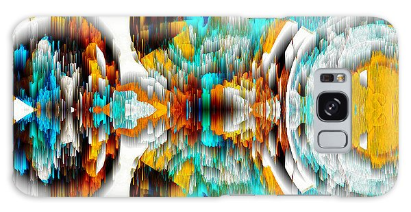 Galaxy Case featuring the digital art Untitled Series 992.042212 -c by Kris Haas