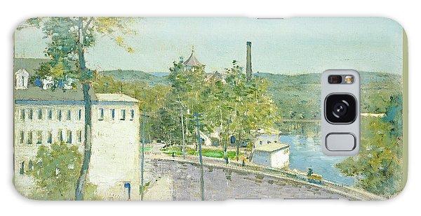 U.s. Thread Company Mills, Willimantic, Connecticut Galaxy Case