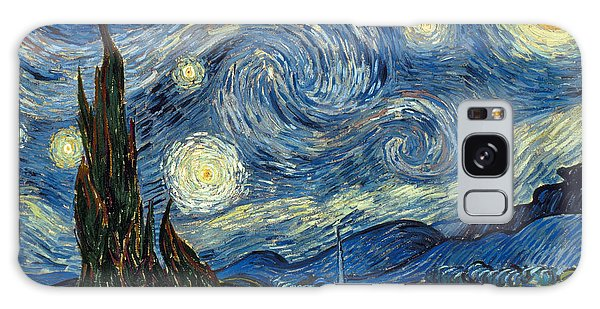 Moon Galaxy Case - Van Gogh Starry Night by Granger