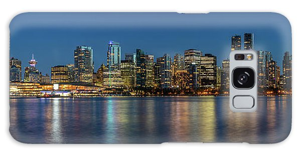 Galaxy Case featuring the photograph Vancouver City Twilight by Pierre Leclerc Photography