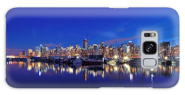 Vancouver Skyline Galaxy Case by Kathy King
