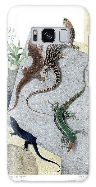 Varieties Of Wall Lizard Galaxy Case