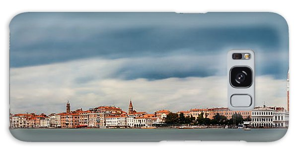 Galaxy Case featuring the photograph Venice Skyline Panorama by Songquan Deng