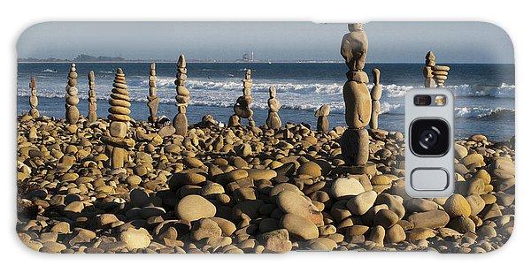 Ventura River Rock Art Galaxy Case by Joe  Palermo