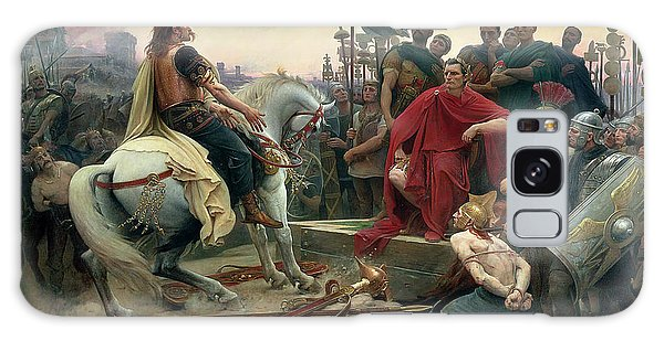 Vercingetorix Throws Down His Arms At The Feet Of Julius Caesar Galaxy Case