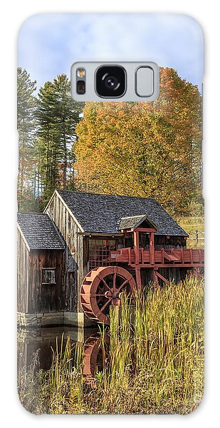 Galaxy Case featuring the photograph Vermont Grist Mill by Edward Fielding