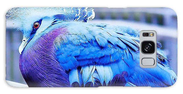 Galaxy Case featuring the photograph Victoria Crowned Pigeon by Al Fritz