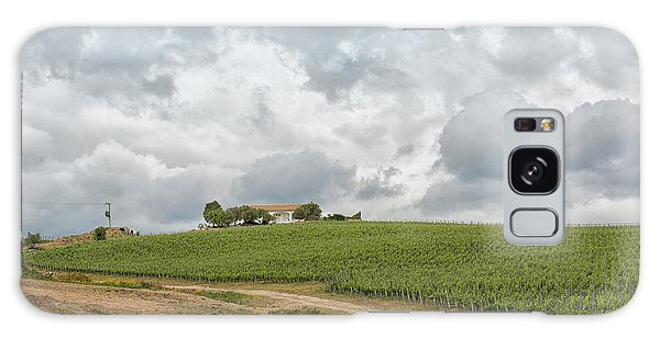 Vineyard In Sardinia Galaxy Case