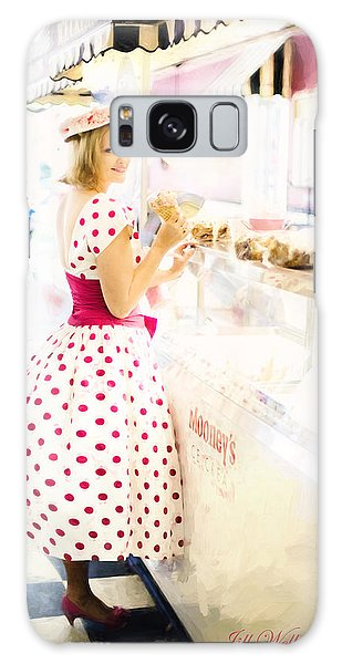 Vintage Val Ice Cream Parlor Galaxy Case